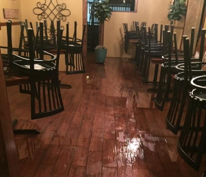 Local Restaurant water damage