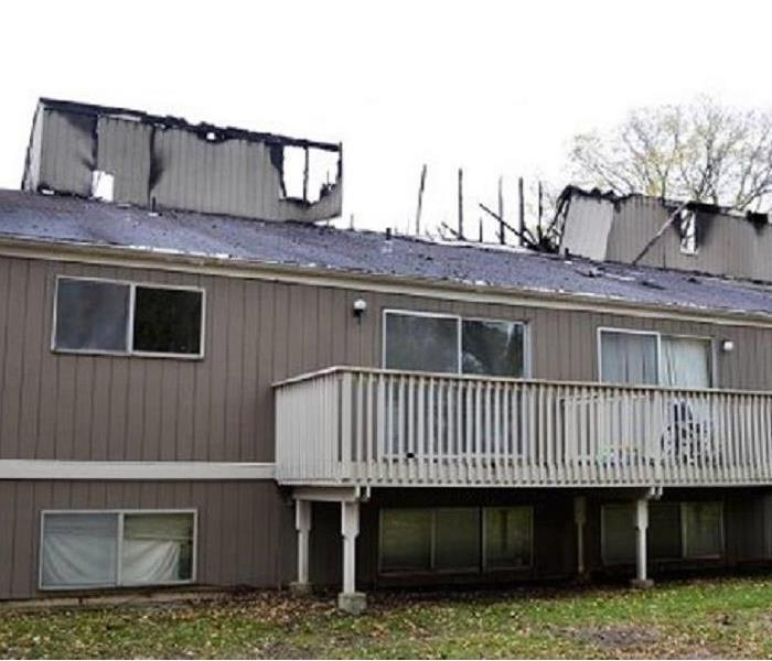 Apartment fire in Berrien County, MI After