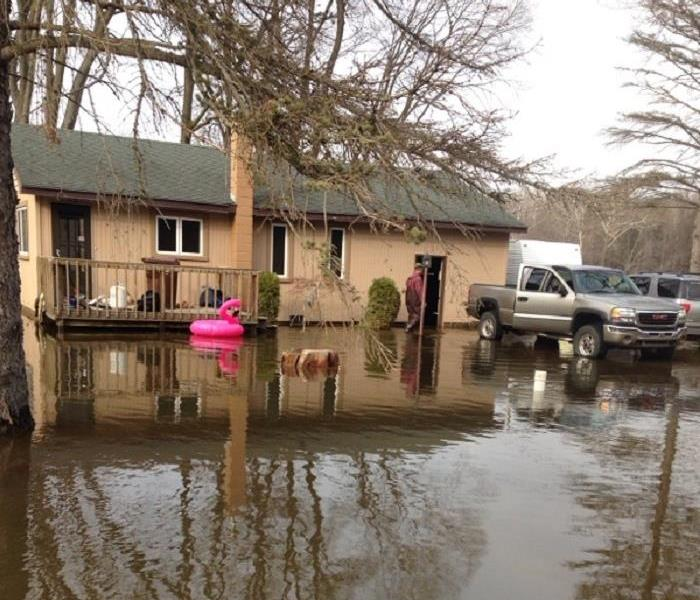 Flooded homes need SERVPRO
